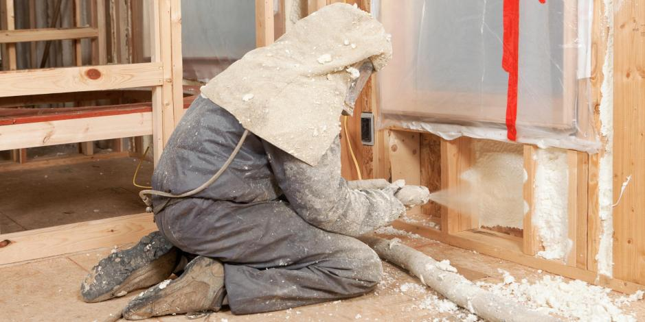 spray foam insulation application Yankee Thermal Imaging
